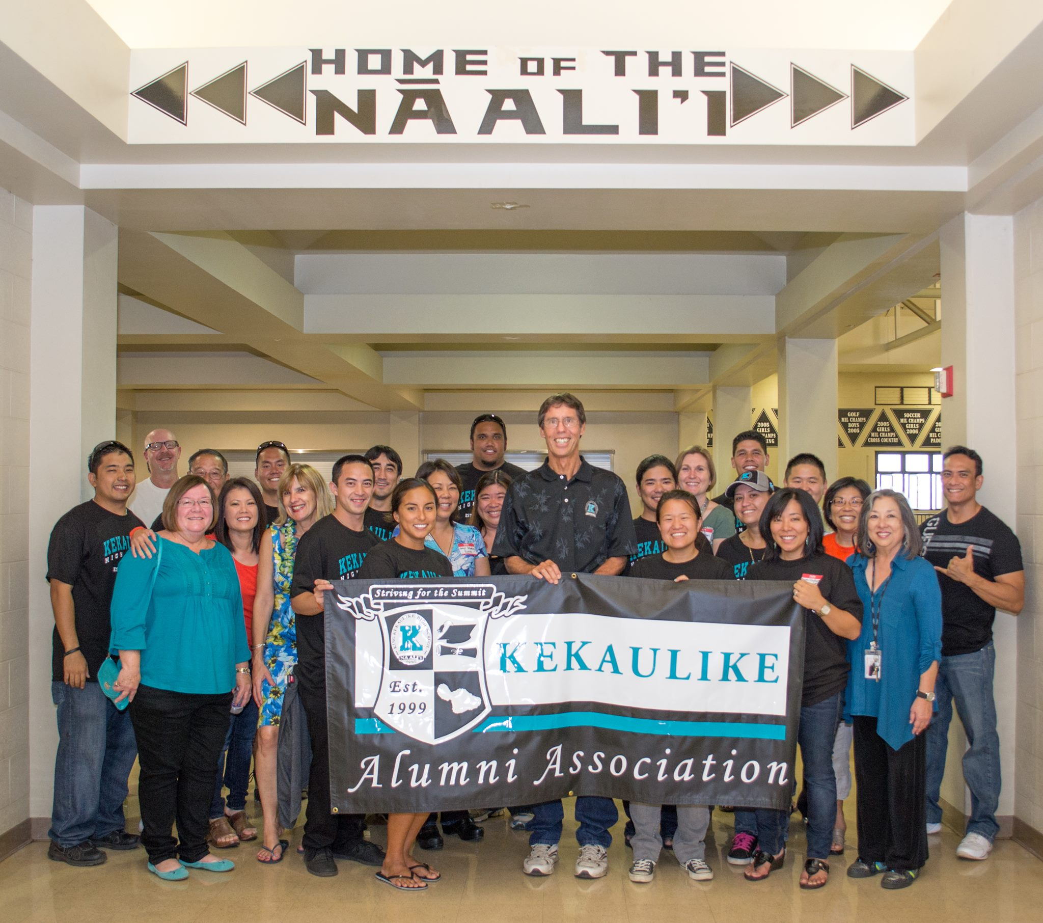 Attendees of the 2013 King Kekaulike Homecoming meeting and greet.